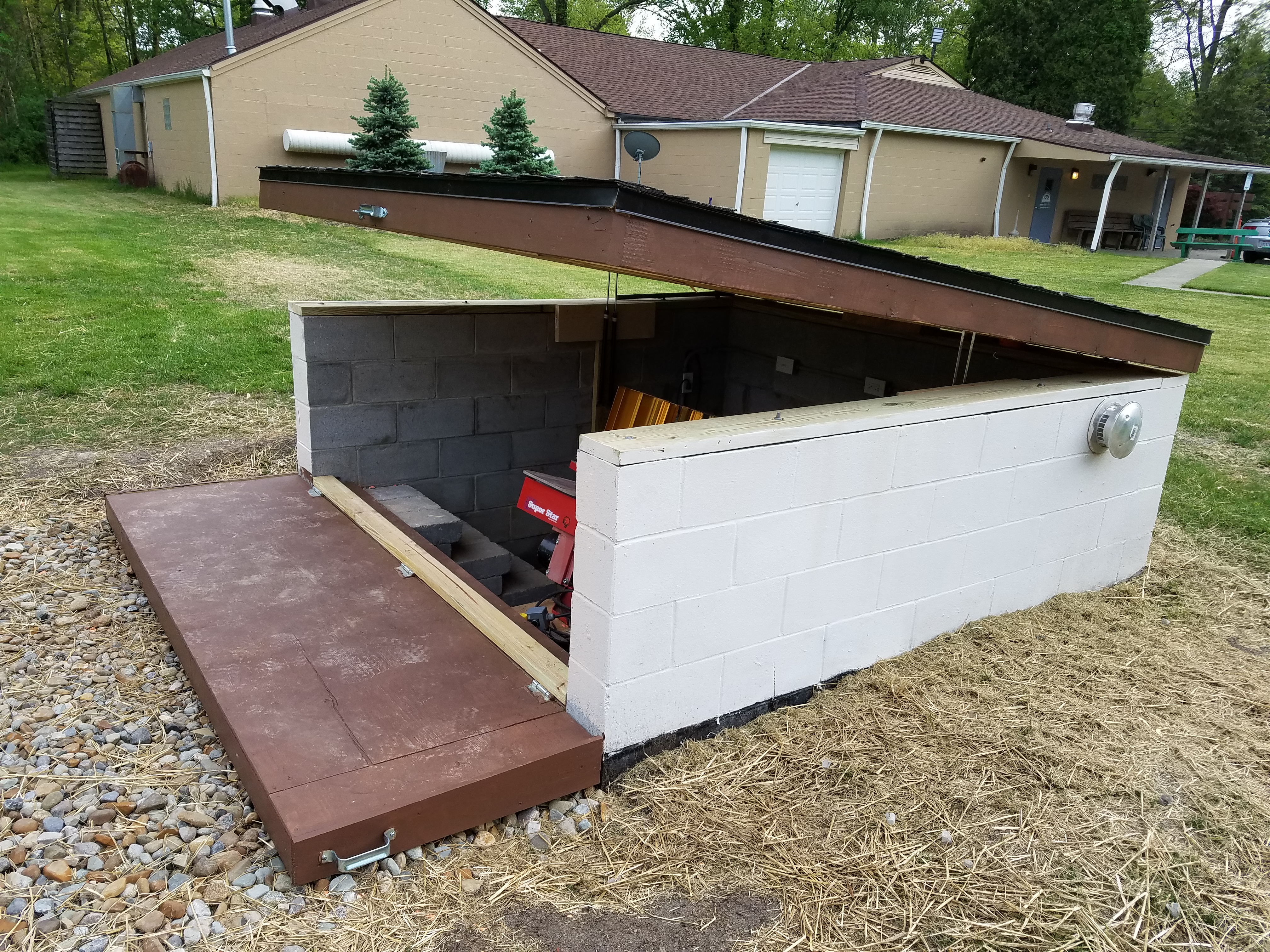 Trap House Renovation Project North Olmsted Sportsman S Club